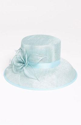 Nordstrom 'Medium' Down Brim Derby Hat Blue One Size