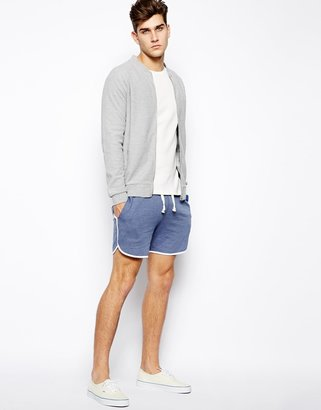 Asos Jersey Shorts In Short Length
