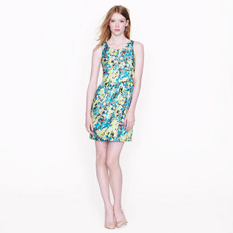 J.Crew Allie dress in aqua floral