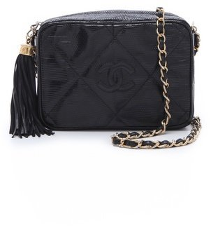 WGACA Vintage Chanel Lizard Bag