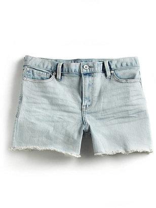 Calvin Klein Jeans Cut-Off Denim Shorts