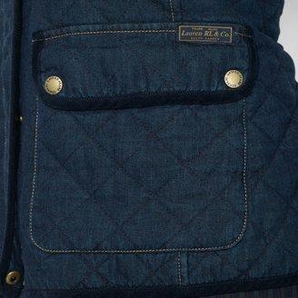 Ralph Lauren Corduroy-Trimmed Cotton Jacket