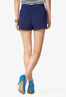 Forever 21 Contemporary Essential Tie-Front Woven Shorts