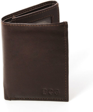 Accessories Personalized Tri-Fold Genuine Leather Wallet