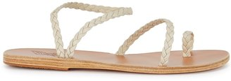 Ancient Greek Sandals Eleftheria Stone Plaited Leather Sandals