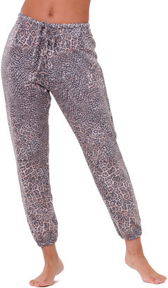 Onzie Weekend Animal-Print Sweatpants