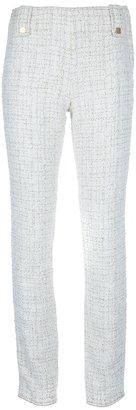 Chanel tweed trouser