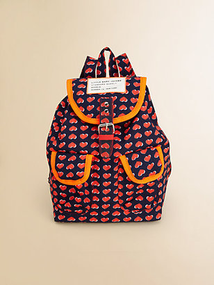 Little Marc Jacobs Girl's Printed Backpack