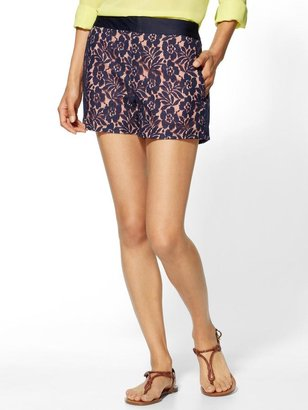 French Connection Poppy Lace Shorts