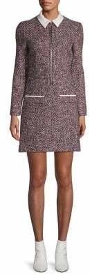Maje Tweed Shift Dress