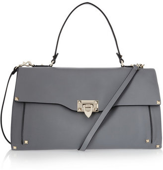 Valentino Studded leather tote