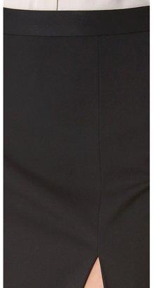 L'Agence High Slit Skirt