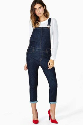 Nasty Gal Roll With It Overalls