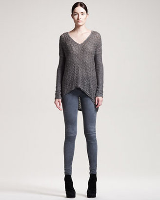 Helmut Lang Lux Chainette Pullover