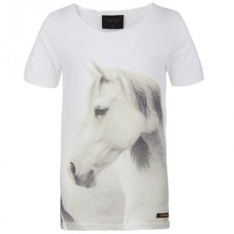 Finger In The Nose Nikki Horse Print Tee