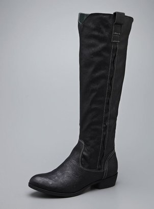 Mia Cavalry High Faux Leather Boot