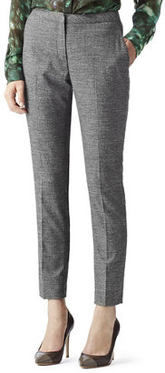 Reiss Linnie CROPPED TAILORED TROUSERS
