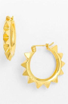Tom Binns 'Protopunk - Small' Stud Hoop Earrings