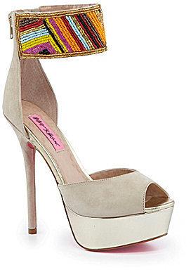Betsey Johnson Ireen Platform Sandals