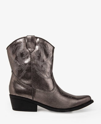 Forever 21 Cowboy Booties