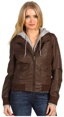Obey Jealous Lover Jacket (Brown) - Apparel