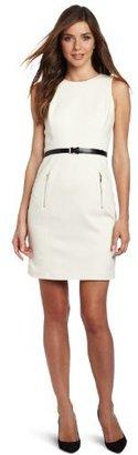 Anne Klein Women's Zip Pocket Dress