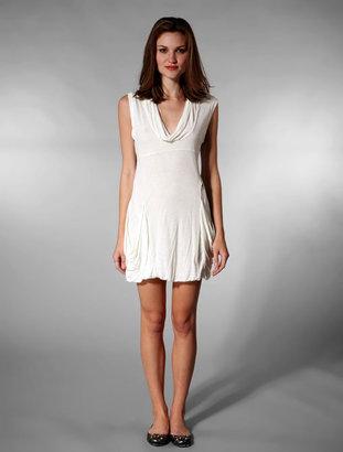 Diesel Hekel Dress in White
