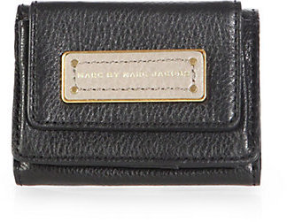 Marc by Marc Jacobs Compact Tri-Fold Leather Wallet