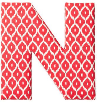 Found by Fab Fabric Letter N Red