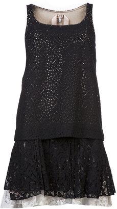 No.21 Eyelet Lace Sleeveless Dress