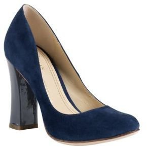 Cole Haan Chelsea Suede & Patent Leather Pumps