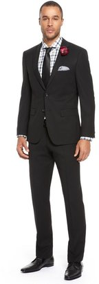 HUGO BOSS 'Howard/Court '   Regular Fit, Virgin Wool Suit by BOSS Selection