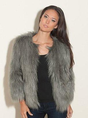 GUESS Felicia Faux-Fur Jacket