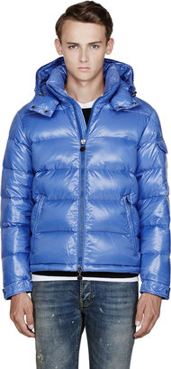 Moncler Blue Quilted Down Maya Jacket