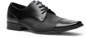 Calvin Klein Bram Leather Vamp Derby Shoes