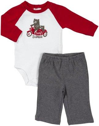 Carter's L/S Bodysuit Pant Set - Sidekick- Newborn