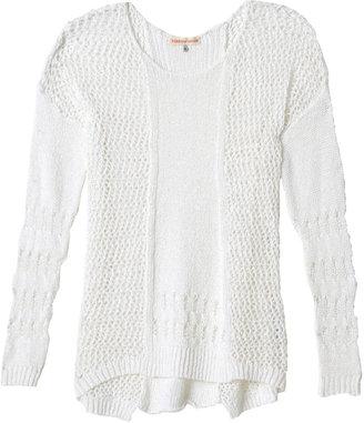 Rebecca Taylor Textured Crewneck Sweater