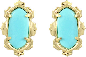 Kendra Scott Shina Stud Earrings, Turquoise
