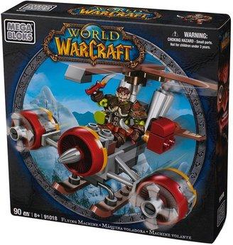 Mega Bloks World of warcraft flying machine & flint by 91018
