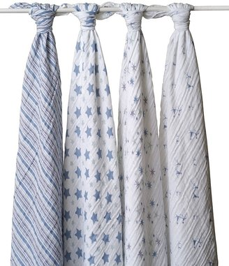 Aden + Anais Prince Charming Swaddle - Pack of 4