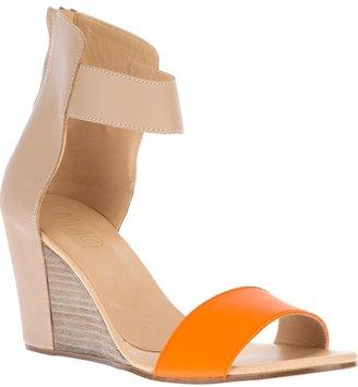 Maison Martin Margiela two-tone wedge sandal