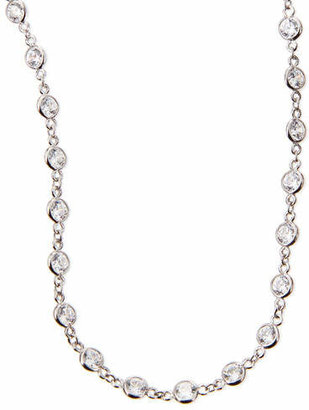 "FANTASIA Cubic Zirconia By-the-Yard Necklace, 36""L"