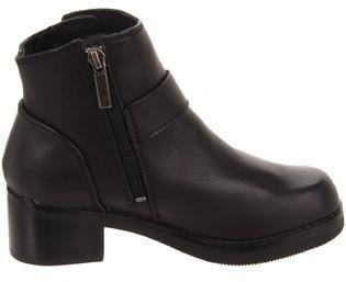 Harley-Davidson Women's Khari Motorcycle Boots Ankle High Side Zip Black Grain Leather B(M) D84180