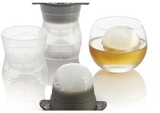 Crate & Barrel Set of 2 Tovolo Sphere Ice Molds