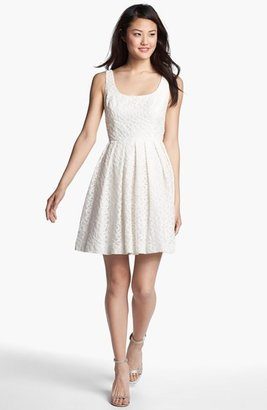 Donna Morgan 'Natalie' Lace Fit & Flare Dress