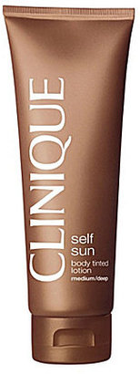 Clinique Self Sun Body Tinted Lotion $25 thestylecure.com