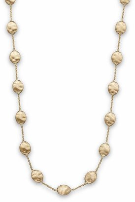 """Marco Bicego Siviglia Collection"""" Large Bead Necklace in 18K Yellow Gold, 16"""""""