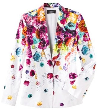 Prabal Gurung For Target® Blazer in Floral Crush Print