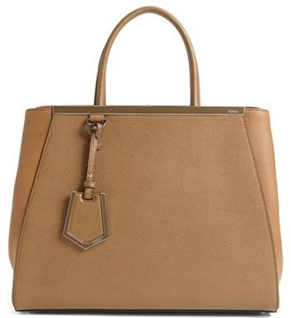 Fendi '2Jours Elite' Leather Shopper