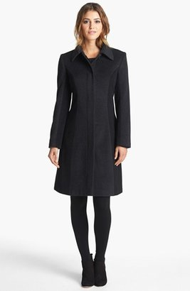 Helene Berman Colorblock Wool Blend Coat